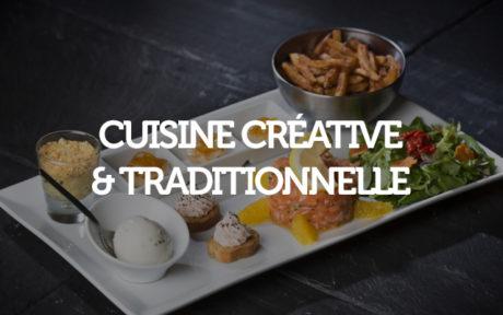 Cuisine créative et traditionnelle