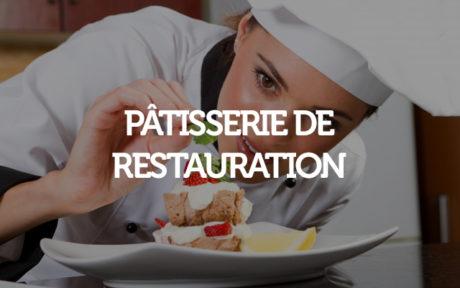 Pâtisserie de restauration